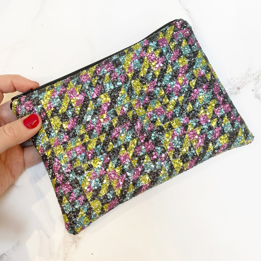Graffiti Clutch Bag