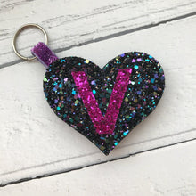 Load image into Gallery viewer, Personalised Glitter Keyring