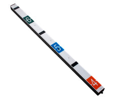 IPHS243 IP Height Strip, 2MP, 3X Streaming, WDR, Micro-SD, 4.3mm, 12VDC/PoE, Black
