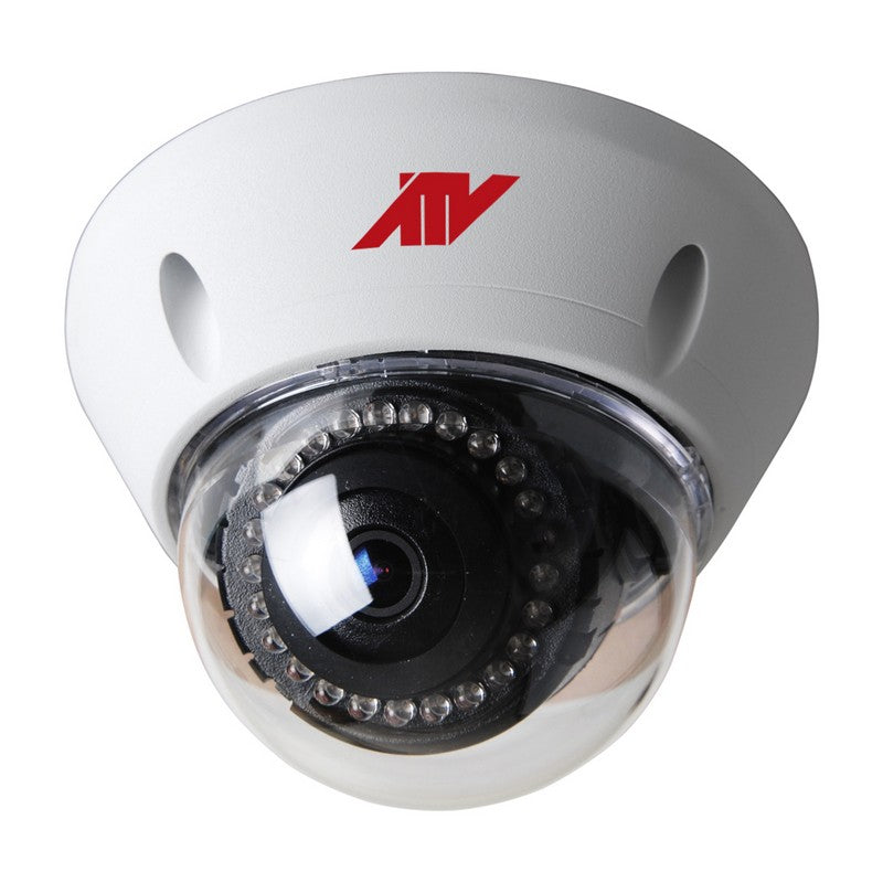 NV237 2MP Vandal Dome, 3.7mm, IR, SD slot, PoE