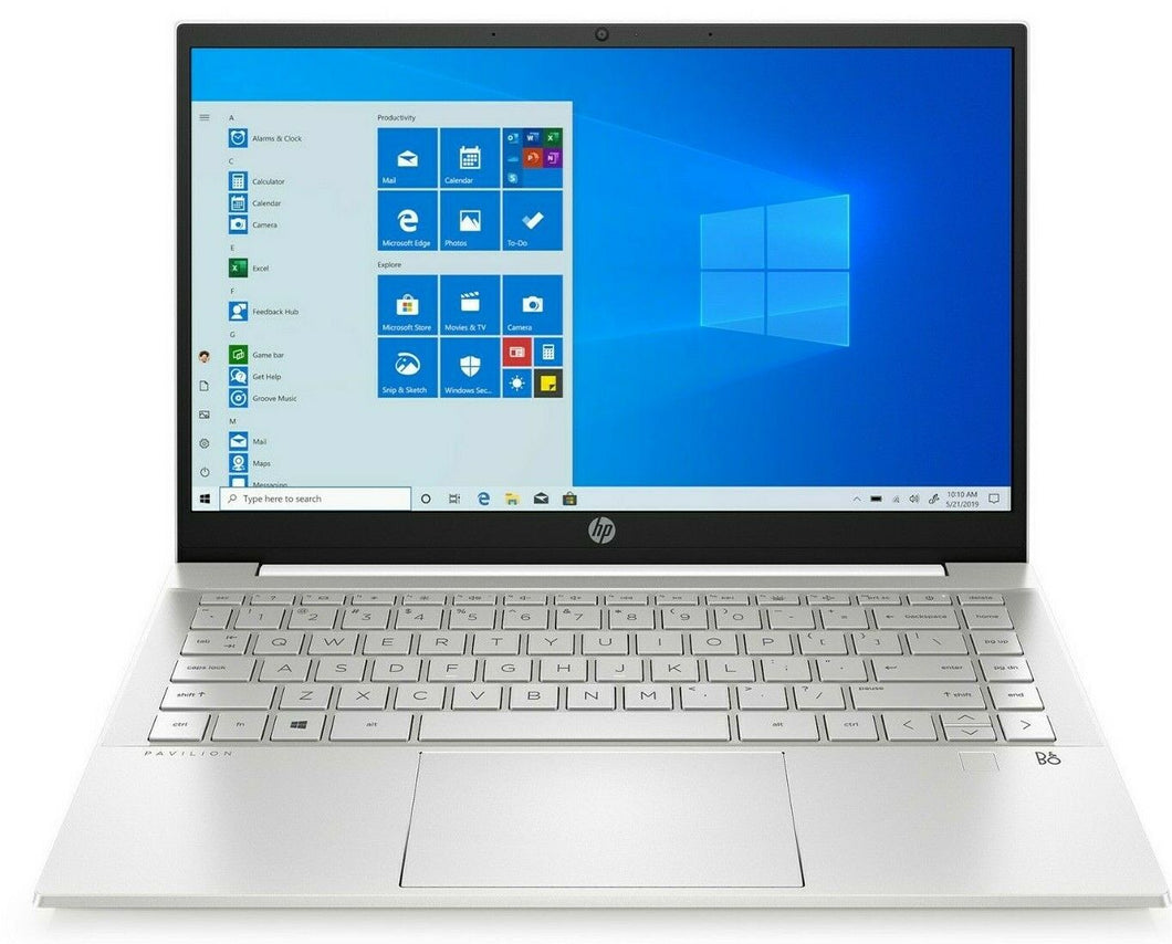 Laptop Hp Pavilion 14-DV0065ST 14 in. Intel i5-1135G7 8GB 256GB SSD Win10 Silver