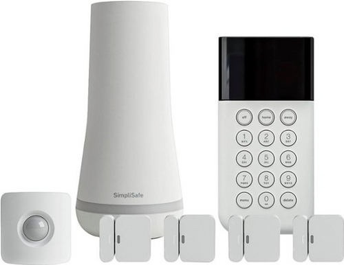 SimpliSafe Protect Home Security System SS3-01, White