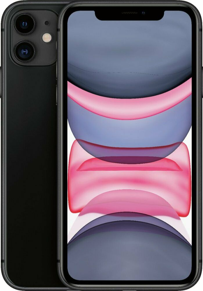 Apple iPhone 11 64GB (T-Mobile) Black SmartPhone MWL72LL/A