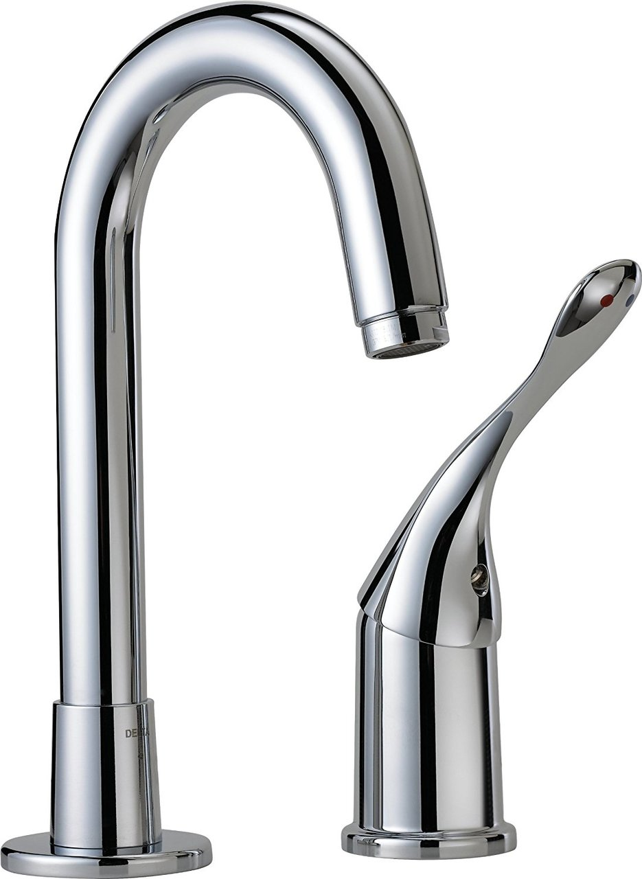 Delta Commercial 710LF-HDF Single Handle Bar Prep Faucet, Chrome
