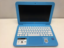 "Load image into Gallery viewer, Laptop HP Stream 11-AH010NR 11.6"" Celeron N3060 1.6GHz 4GB 32GB"