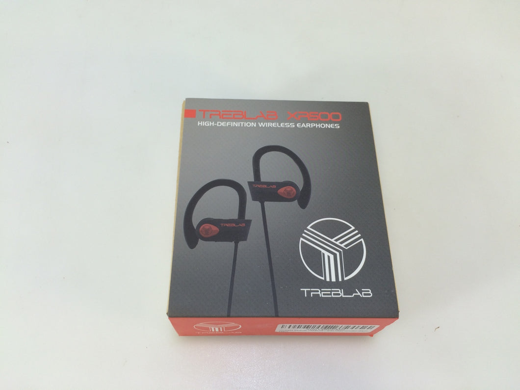 TREBLAB XR500 High Definition Wireless Bluetooth Headphones Black