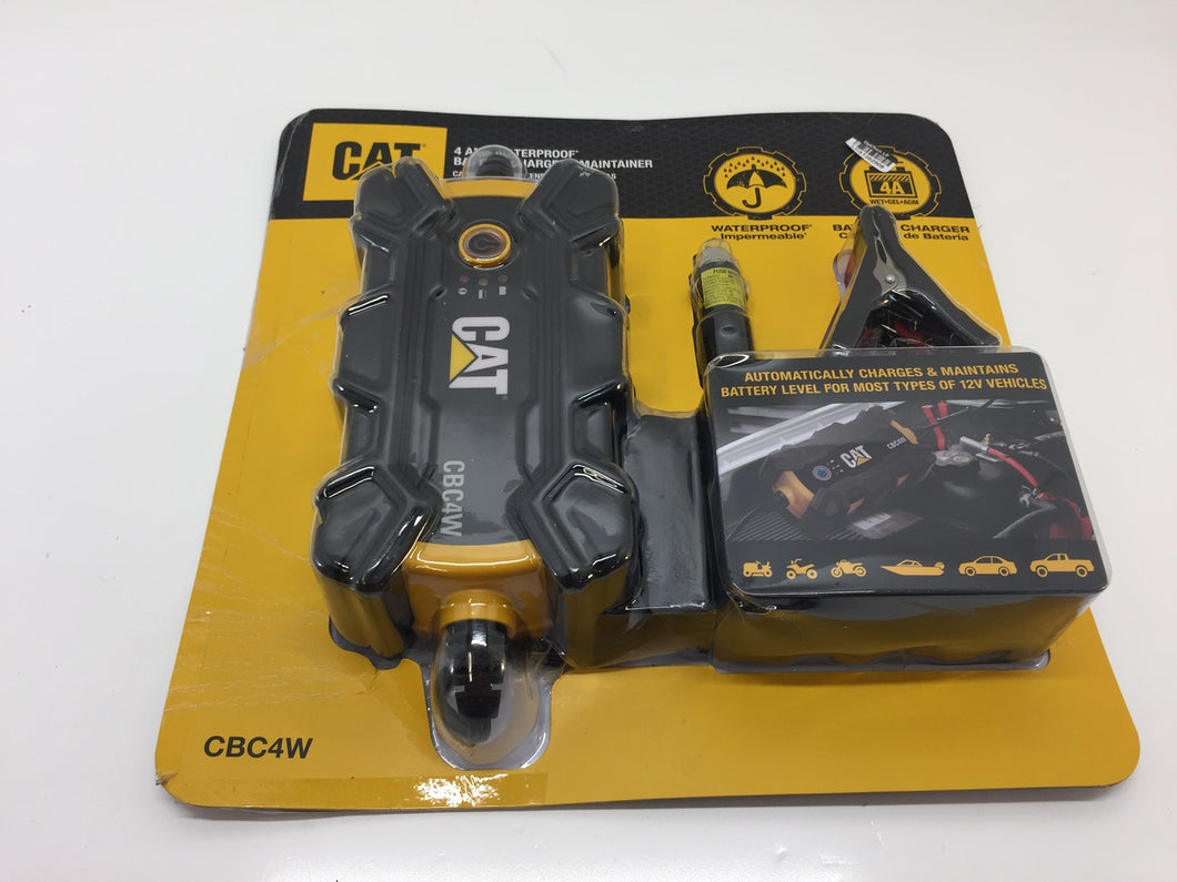 CAT CBC4W 4 Amp Waterproof Battery Charger/Maintainer