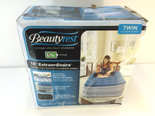 "Load image into Gallery viewer, Beautyrest 15"" Extraordinaire Raised Air Bed Mattress with iFlex Support, Twin"