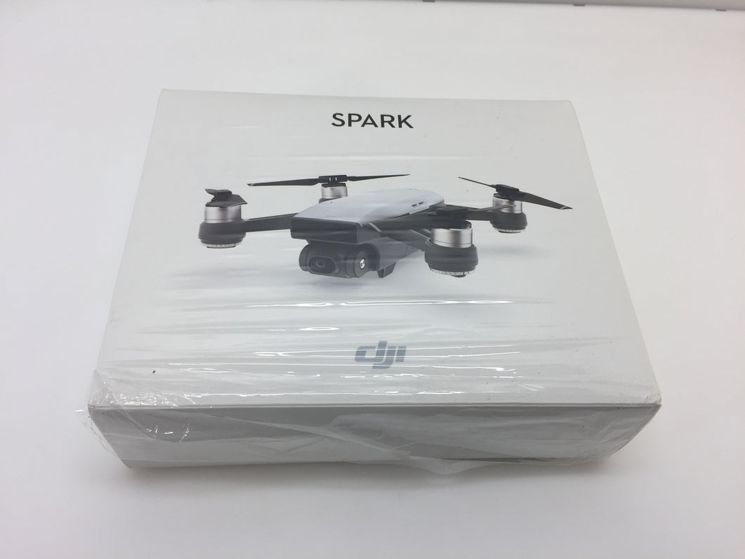 DJI Spark Alpine White Quadcopter Drone - 12MP 1080p Video