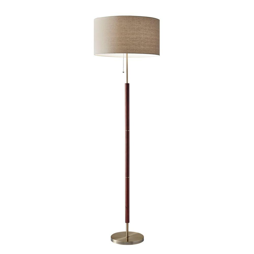 Adesso Hamilton 65 in. Metal Floor Lamp 3377-15