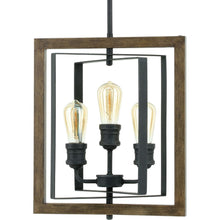 Load image into Gallery viewer, Home Decorators Palermo Grove 3-Light Gilded Iron Dining Table Pendant 7921HDC