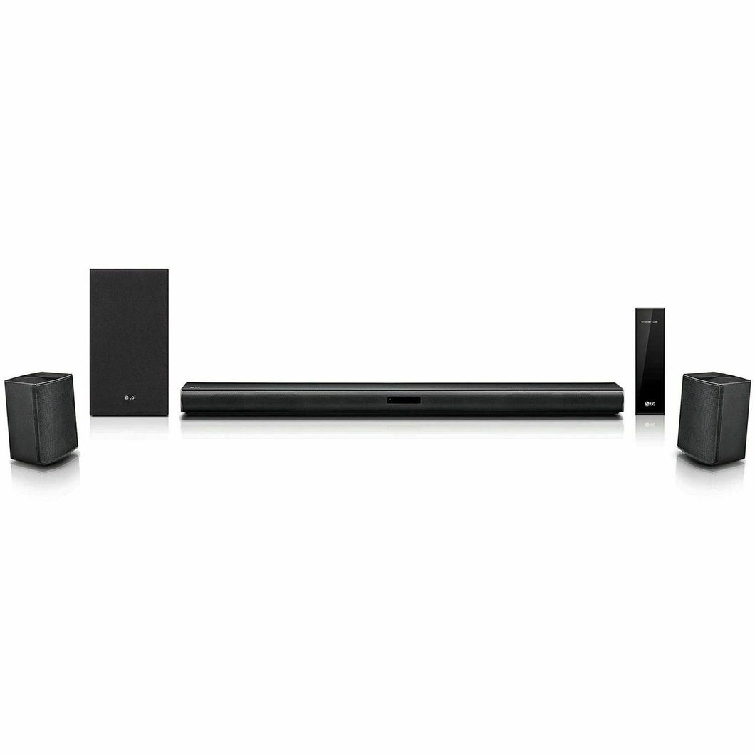 LG LASC58R Sound Bar 4.1 ch Surround System with Wireless Subwoofer