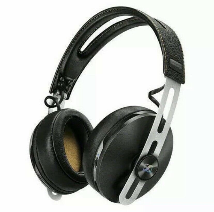 Sennheiser HD1 Headphone with Momentum Wireless Headphones Black 507390 NOB