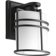 Load image into Gallery viewer, Progress Lighting Format 1-Light Small Black Outdoor Wall Lantern P6062-31