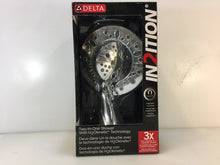 Load image into Gallery viewer, Delta 75591 In2ition Two-In-One 5-Spray Hand Shower Showerhead Combo Kit Chome
