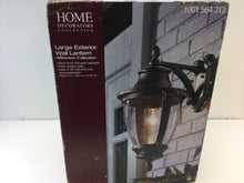 Load image into Gallery viewer, Home Decorators Wilkerson 23453 1-Light Black Outdoor Wall Mount 1001564313