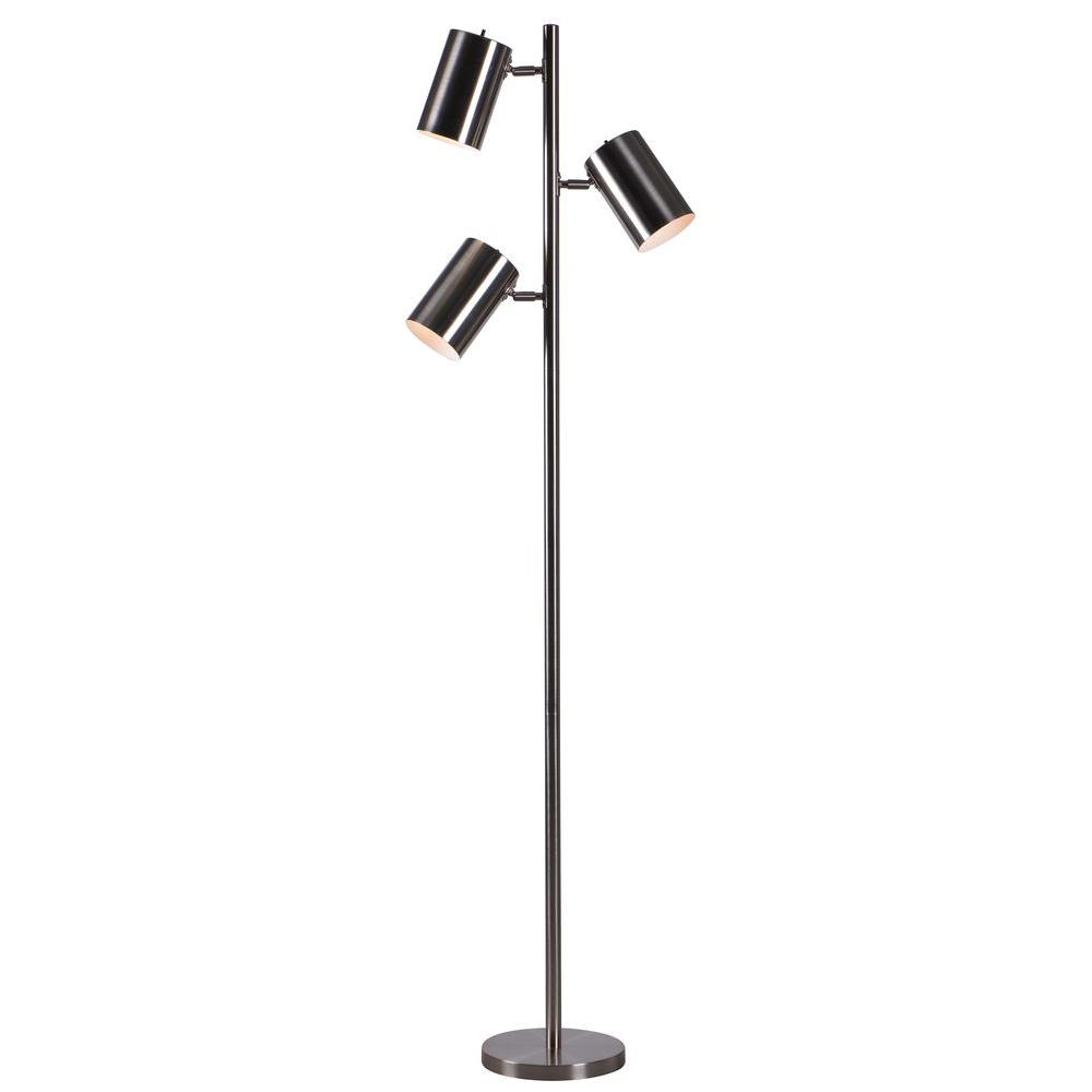 Kenroy Home Beech 64-in. Steel Tree Lamp 32839BS
