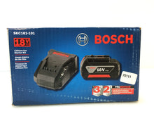 Load image into Gallery viewer, Bosch SKC181-101 18V Li-Ion Cordless Starter Kit with Battery and Charger