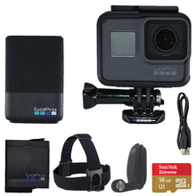 Load image into Gallery viewer, GoPro HERO5 Black Bundle 4K Ultra HD Action Camera - CHDCB-501, NOB