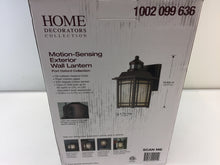Load image into Gallery viewer, HDC 22211 Port Oxford Oil-Rubbed Chestnut Motion Sensor Wall Lantern 1002099636