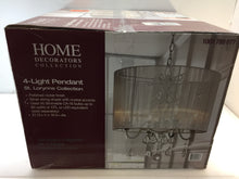 Load image into Gallery viewer, HDC HD-1141-I St. Lorynne 4-Light Polished Nickel Pendant 1001789677