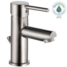 Load image into Gallery viewer, Delta 559LF-SSPP Modern Single Hole Single-Handle Bathroom Faucet in Stainless