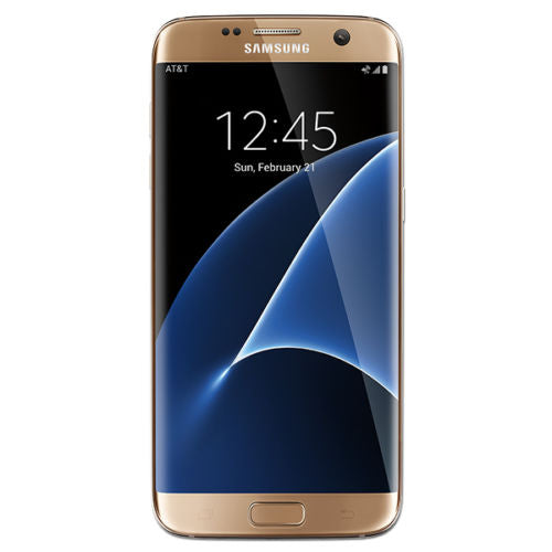 Samsung Galaxy S7 Edge SM-G935U 32GB Gold Factory Unlocked Smartphone