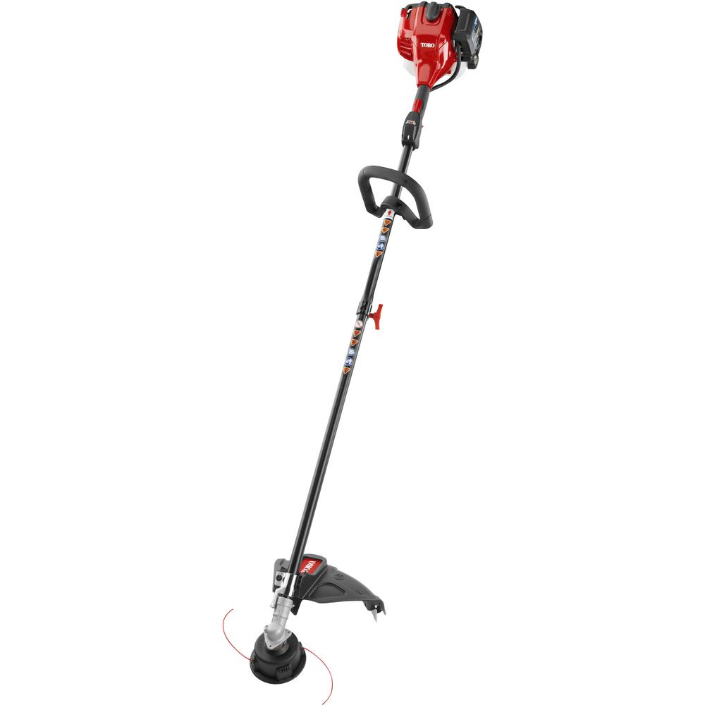 Toro 2-Cycle 25.4cc Attachment Capable Straight Shaft Gas String Trimmer 51978