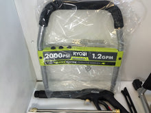 Load image into Gallery viewer, Ryobi RY141900 2,000 PSI 1.2-GPM Electric Pressure Washer