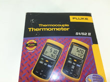 Load image into Gallery viewer, Fluke 51/52 II Thermocouple Digital Thermometer 51-2B
