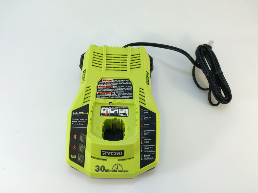 Ryobi P117 ONE+ 18-Volt Dual Chemistry IntelliPort Charger