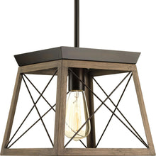 Load image into Gallery viewer, Progress Lighting Briarwood 10 in. 1-Light Antique Bronze Pendant P500041-020