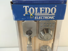 Load image into Gallery viewer, Toledo Electric V160E-CO/CA-US15 Córdoba Keyless Electronic Entrance Handleset