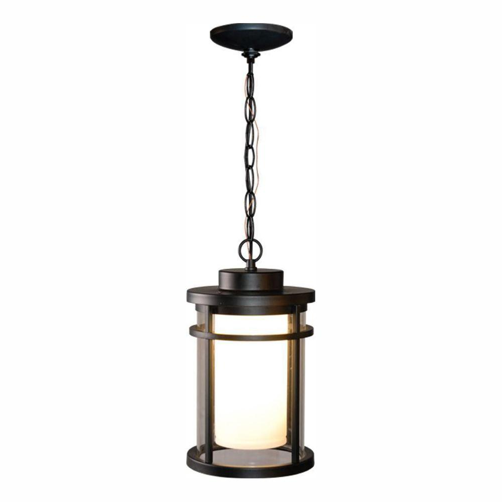 Home Decorators Collection DS5981BK Black Outdoor LED Hanging Light 667303