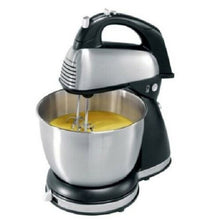 Load image into Gallery viewer, Hamilton Beach 64650 6-Speed Classic Stainless Steel Stand Hand Mixer, NOB