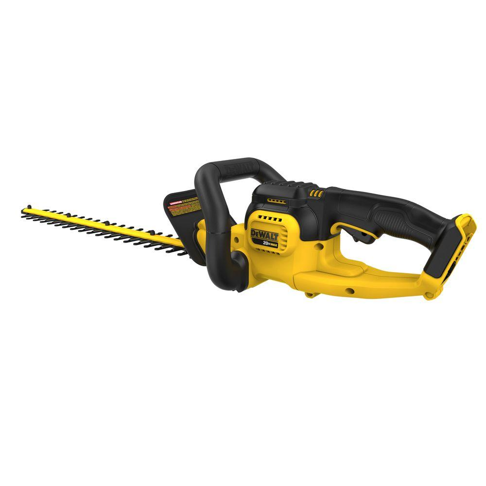 DeWalt DCHT820B 20-Volt Max Lithium-Ion Cordless Hedge Trimmer (Tool Only)