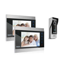 "Load image into Gallery viewer, TMEZON 7"" LCD Intercom System Innovation 4-Wire Video Door Phone MZ-VDP-739EM"