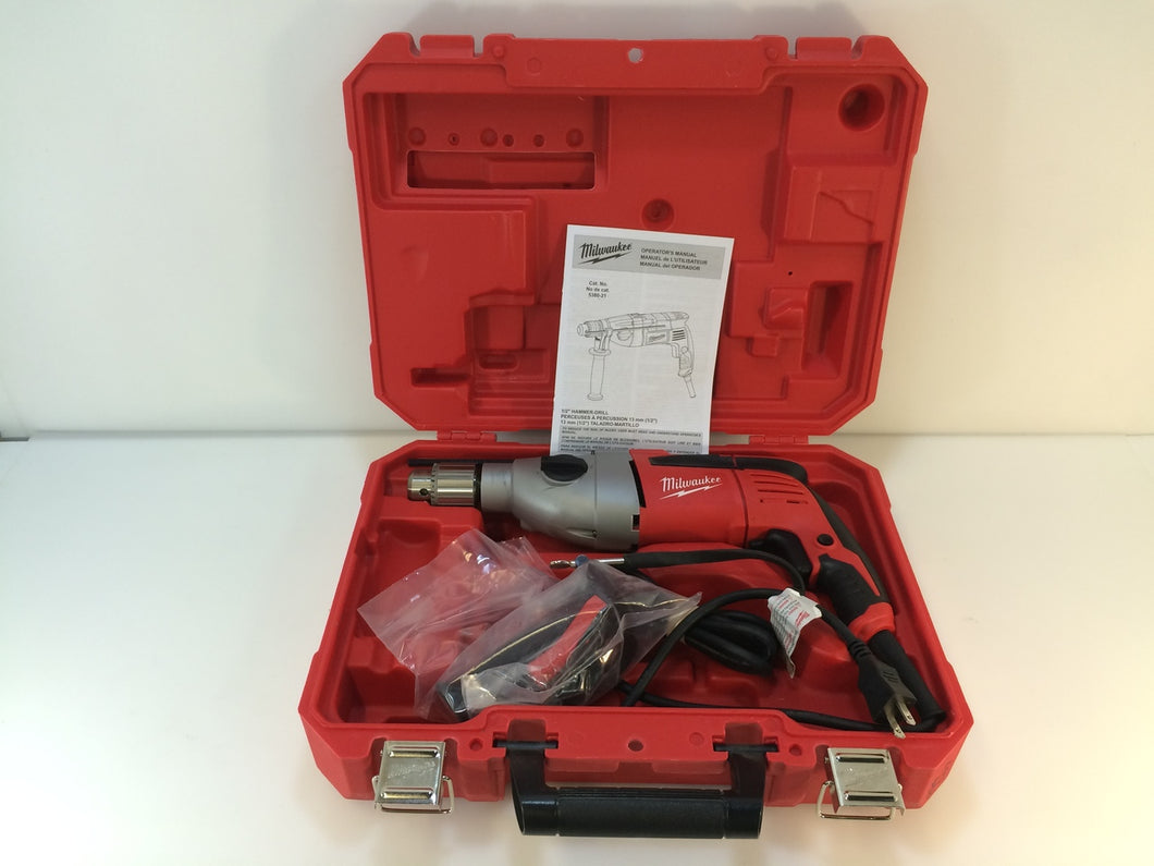 Milwaukee 5380-21 1/2 in. Heavy-Duty Hammer Drill
