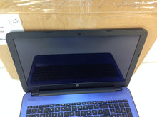 "Load image into Gallery viewer, Laptop Hp 15-ba081nr 15.6"" Touchscreen AMD A8-7410 2.2Ghz 4GB 320GB Win10 Blue"