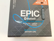 Load image into Gallery viewer, JLab Epic Bluetooth Waterproof In-Ear Headphones, Blue