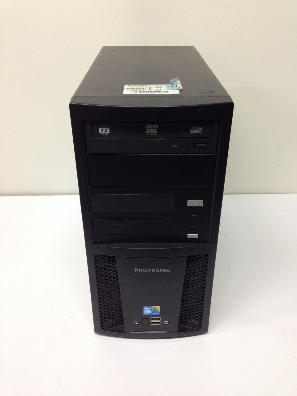 Desktop PowerSpec B627 Core 2 Quad Q8300 2.5Ghz 4GB 500GB DVD-RW Win7