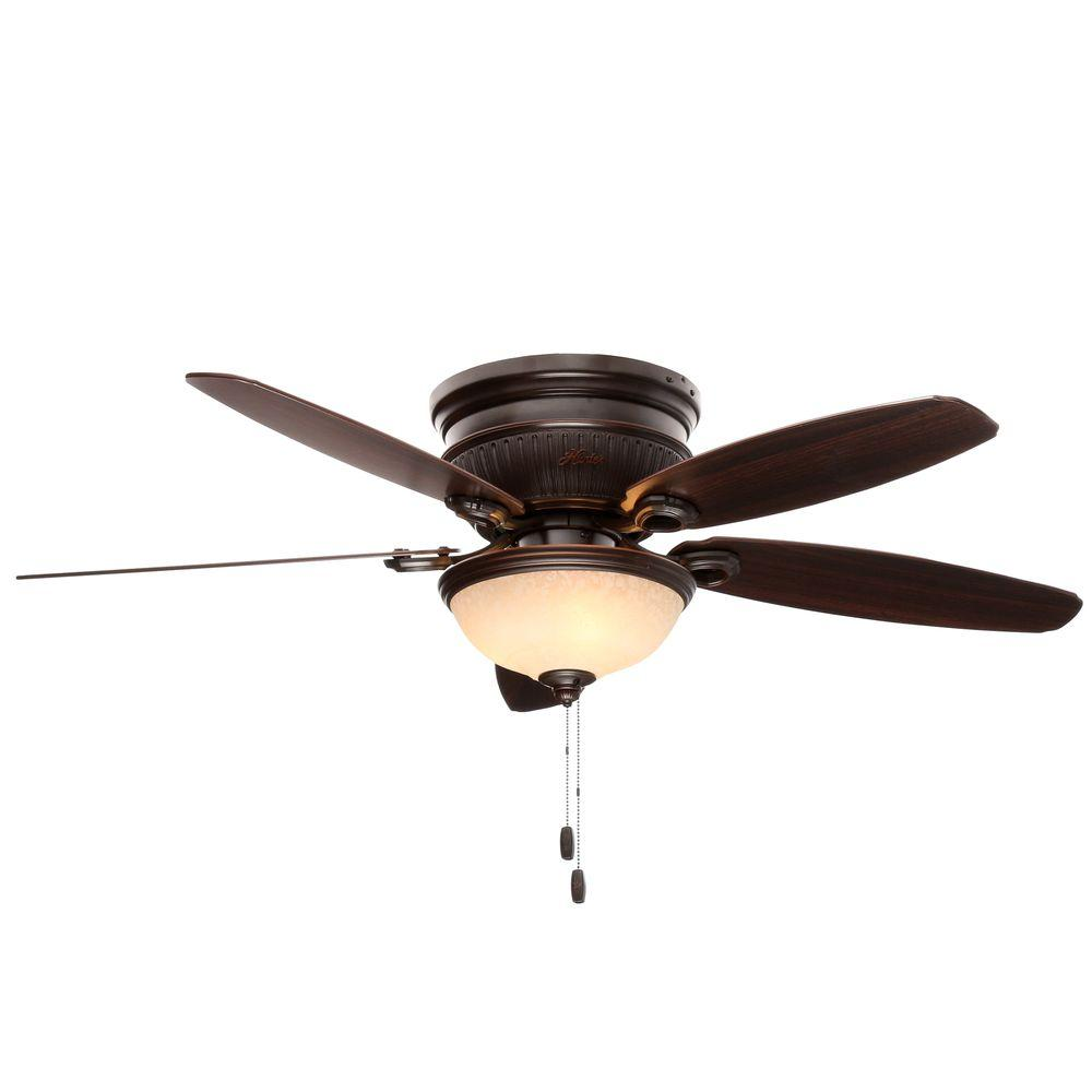 Hunter 53253 Ashmont 52 in. Indoor Onyx Bengal Bronze Ceiling Fan