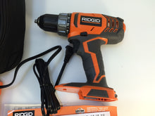 Load image into Gallery viewer, RIDGID R860052K 18-Volt Lithium-Ion 1/2 in. Cordless Compact Drill/Driver Kit
