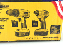 Load image into Gallery viewer, DEWALT DCK235C 18V NiCd Cordless Drill/Driver and Impact Driver Combo Kit