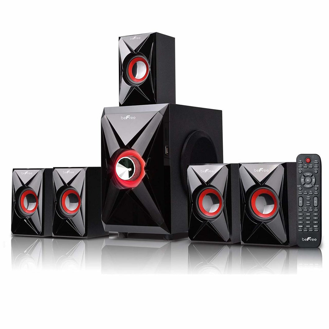 Befree Sound BFS-420 5.1 Channel Surround Bluetooth Speaker System, NOB