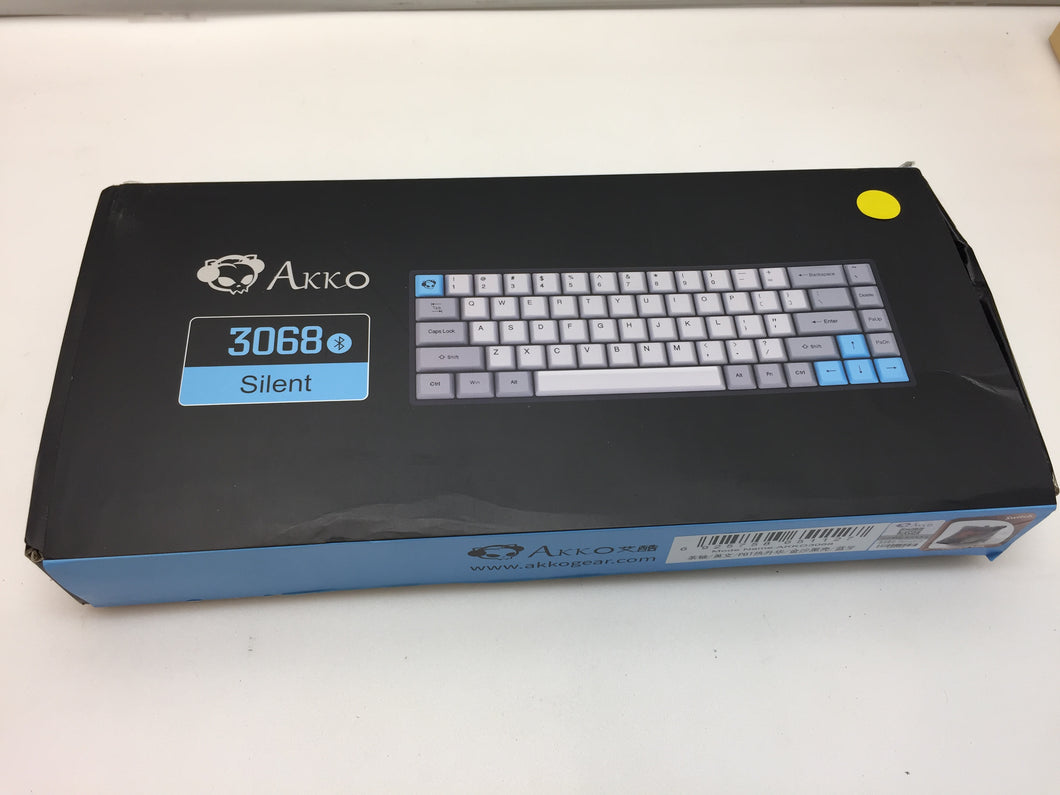 Akko 3068 Silent Bluetooth Wired Dual Mode Mechanical Keyboard Cherry Brown