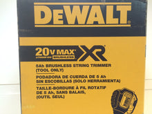 "Load image into Gallery viewer, DEWALT DCST920B 13"" 20V Li-Ion Cordless Brushless Dual Line String Grass"