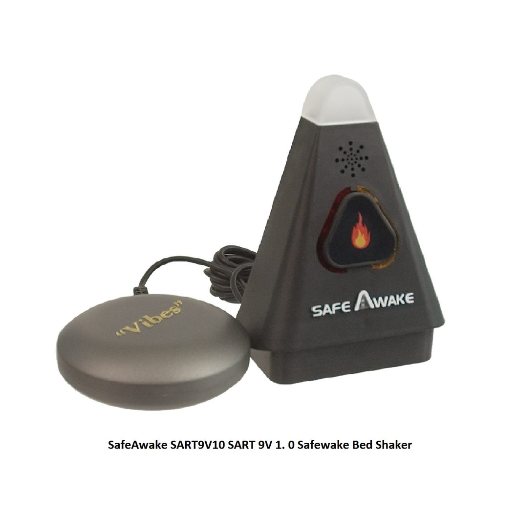 SafeAwake SART9V10 SART 9V 1. 0 Fire Smoke Alarm Bed Shaker