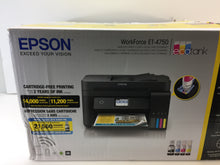 Load image into Gallery viewer, Epson WorkForce ET-4750 EcoTank All-In-One Printer
