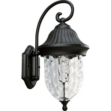 Load image into Gallery viewer, Progress Lighting P5828-31 Coventry Textured Black 1-Light Wall Lantern